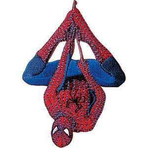 Spider Man Hanging Marvel Comics Embroidered Iron On Patch