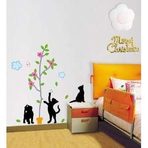 & Tree Decor Mural Art Wallpaper Sticker KRS 0104