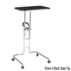 Lucent Laptop Stand Black Glass Top   Office Star LT203
