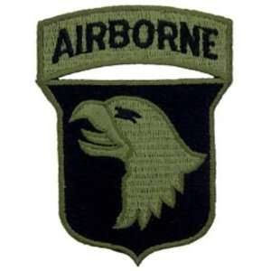 U.S. Army 101st Airborne Division Patch Green 3 Patio