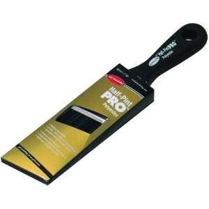 Dynamic HB206103 Half Pint Pro Polyester Angle Sash Paintbrush, 1 1/2