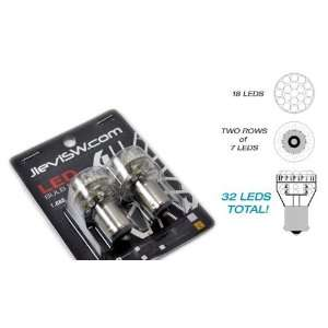 1156 180 AKA  P21W Style  Amber Illuminating  High Output LED Bulbs