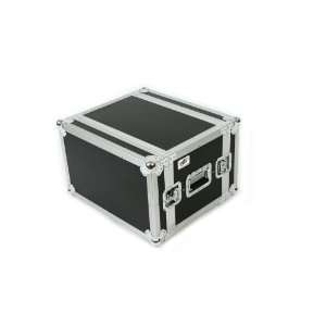 6 Space (6U) ATA Rack Effects Road Shock Mount Case (14