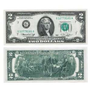 1976 $2 BILL ~~ FEDERAL RESERVE NOTE Everything Else