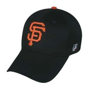 MLB YOUTH San Francisco GIANTS Home Black Hat Cap Adjustable Velcro