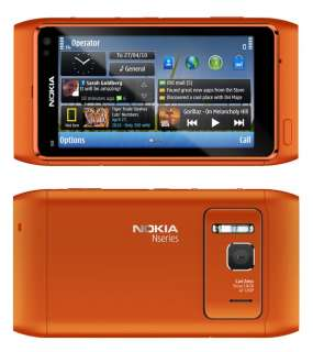 Nokia N8 Unlocked GSM Touch Screen Phone Featuring GPS with Navigation