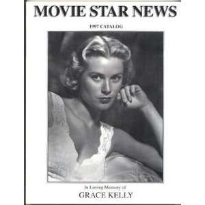 Movie Star News Catalog Grace Kelly Cover 1997 Catalog