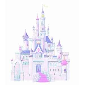 RoomMates RMK1546GM Disney Princess Glitter Castle Peel & Stick Giant