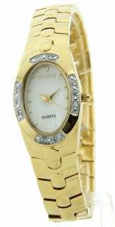 CN207313YLMP Womens Brass Croton Watch MOP Crystal Dress New