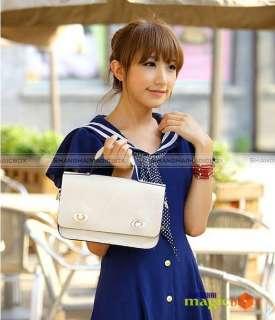 Women Fashion Candy Suitcase Crossbody Shoulder Bag 499