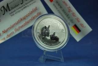 Lunar II Silber 1$ 1oz 1 Unze 2011 Rabbit Hase