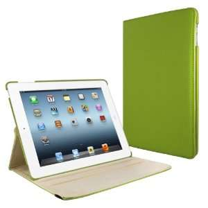 MiniSuit 360 Rotating Leather Case, Cover, and Stand for The New iPad