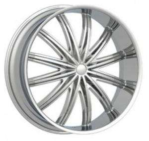 28 Phino PW28 Geneva DUB Wheel SET Chevy Chrome RIMS