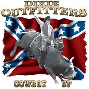 Dixie Rebel Horse Rodeo Cowboy  COWBOY UP