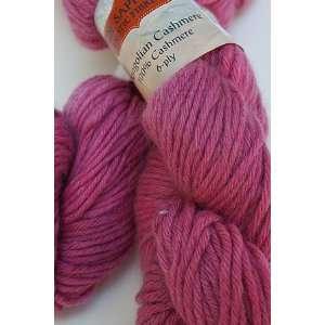 Jade Sapphire Mongolian Cashmere 6 Ply Yarn 68 Raspberry