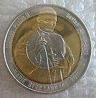 MARIE BYRD LAND 10 Dollars 2011 UNC Tri Metallic Pope John Paul II