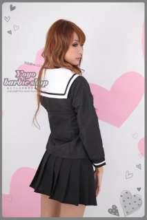 Sailor Uniform Anime Hell Girl Cosplay Costume S M L XL