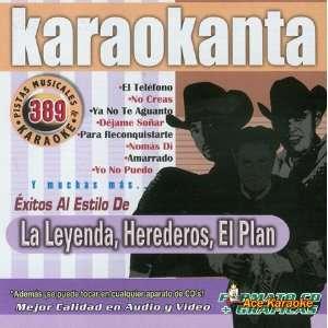 Karaokanta KAR 4389   Al Estilo De La Leyenda, Herederos