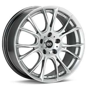 Ammodo (Hyper Silver) Wheels/Rims 5x100 (466 670 8038HS) Automotive