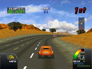 Cruisn USA Nintendo 64 La Bomba in US 101