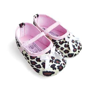 Fashion Infant Baby Girls Leopard Print Mary Jane Shoes 3 12M SA129