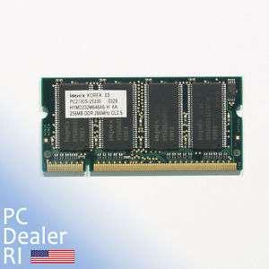 Dell Latitude D505 Memory 256 DDR 266Mhz PC2100 268043