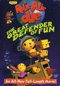 Rolie Polie Olie Great Defender of Fun   DVD 786936171952