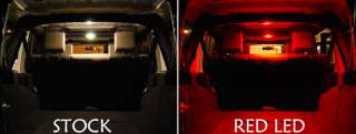 CHEVY TRAILBLAZER 2002 RED INTERIOR LED LIGHTING KIT