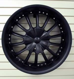 22 CABO 143 machined in black Wheels Rims+Tires PKG 5x127 RWD