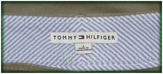 TOMMY HILFIGER ★ Khaki Cotton Spandex Flared Pants, US 2 = 30