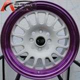15 ROTA TRACK R WHEEL RIMS 4X100 CIVIC CRX XA XB YARIS