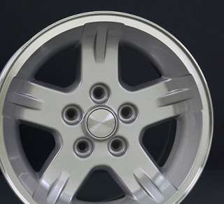 15x8 Silver Wrangler Wheels Rims 30x9.5 Tires Fit Jeep