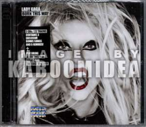 LADY GAGA Born This Way MEXICAN RELEASES + PROMO CARD