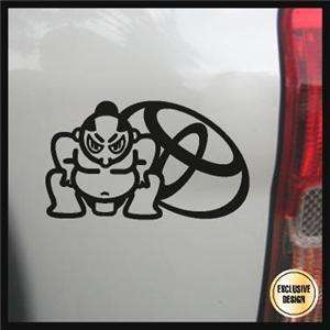 Toyota Sumo Decal, JDM Japanese Sticker, Import Tuner