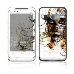 Hiding Decorative Skin Cover Decal Sticker for HTC 7 Surround Cell