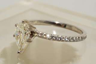 19000 1.17CT GIA CERTIFIED DIAMOND ENGAGEMENT RING PLATINUM & GOLD