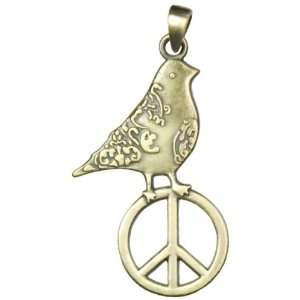 Cousin Jewelry Basics 1 Piece Gold Bird/Peace Accent Arts