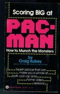 SCORING BIG AT PAC MAN~GAME~1982~PACMAN~PB BOOK
