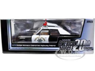 car model of 1974 Dodge Monaco California Highway Patrol die cast car