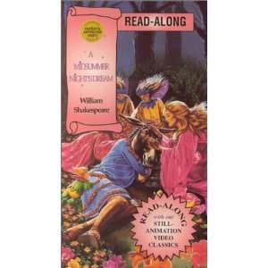 A Midsummer Night Dream Read Along [VHS] Movies & TV