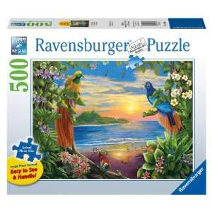 Birds of Paradise 500 Piece Large Format Puzzle Toys