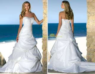 Noble WEDDING DRESS BRIDAL GOWN PROM FORMAL EVENING