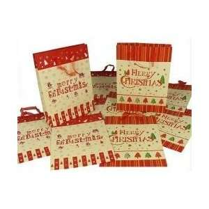 Club Pack Of 48 Large Merry Christmas Gift Bags 18 Home