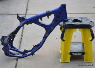 2003 03 Yamaha YZ YZ125 OEM Frame Chassis