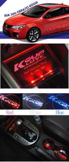 KIA CERATO KOUP LED Cup holder & Consol Plate