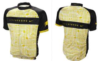 Nike 2012 Livestrong Jersey black/ yellow /NWT/ M SIZE