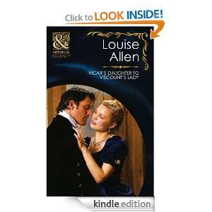 Vicars Daughter to Viscounts Lady (Historical Romance): Louise Allen
