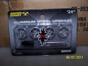 NEW XMODS SUPER STREET ALUMINUM WHEEL UPGRADE KIT RC