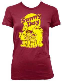 SUNNY DAY Vintage 80s Sesame Street 2102 T Shirt ernie