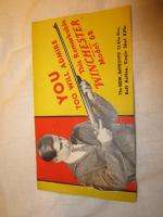 WINCHESTER 1932 MODEL 68 22 CALIBER RIFLE SALE BROCHURE PAMPHLET